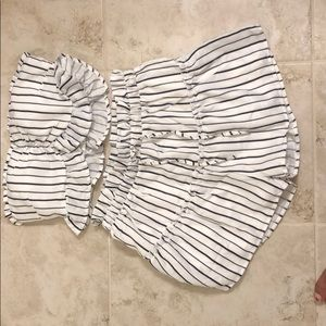 AKIRA Tops - Two piece top and shorts set